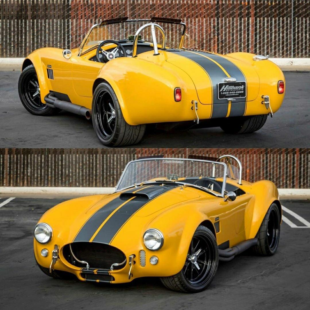 yellow 427 Cobra