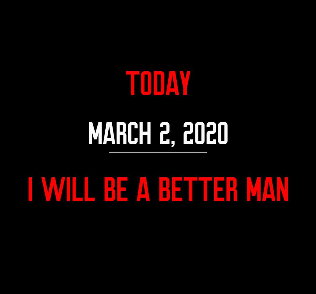 better man 3-2-20