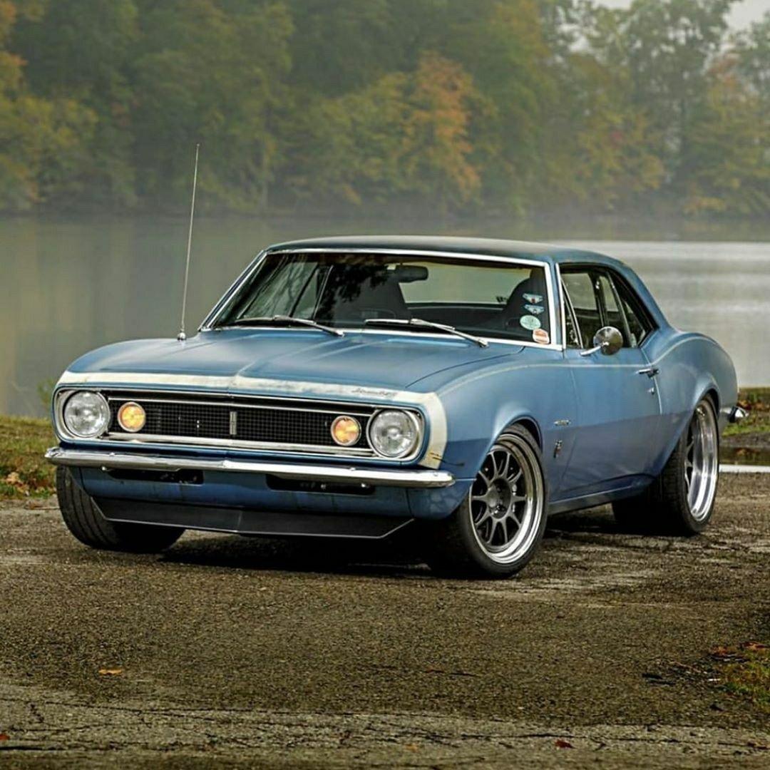 67 Camaro Blue