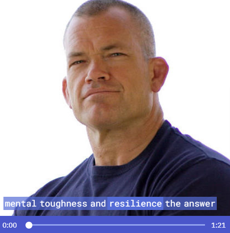 Jocko's One Minute Mental Toughness Lesson